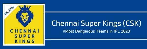Chennai Super Kings Most Dangerous Team In IPL 2020