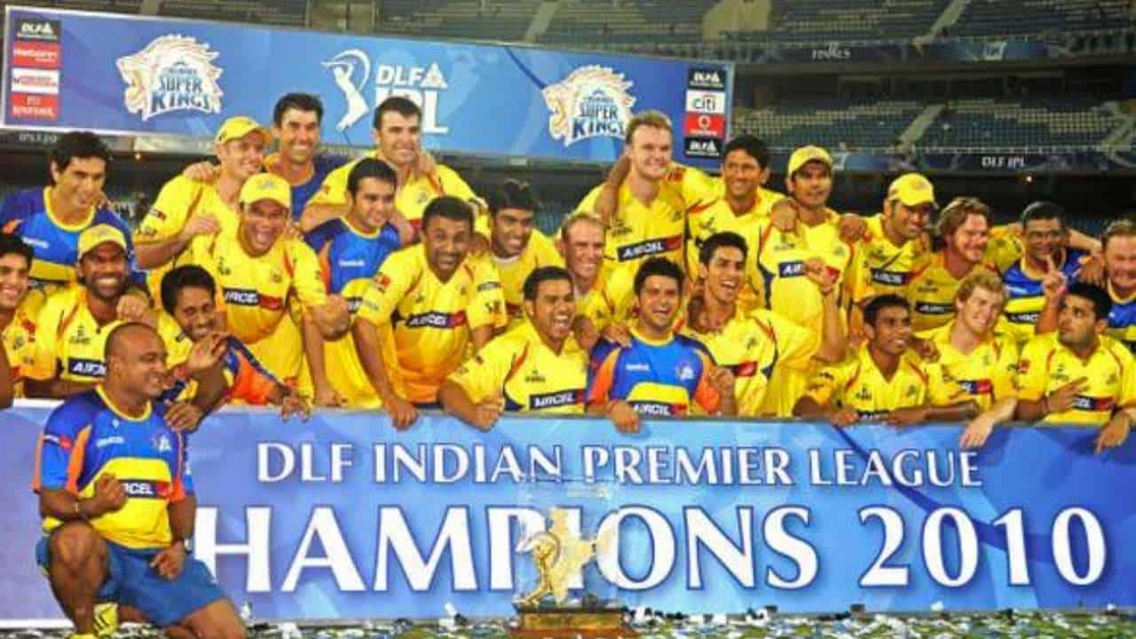 CSK IPL 2010 Winner