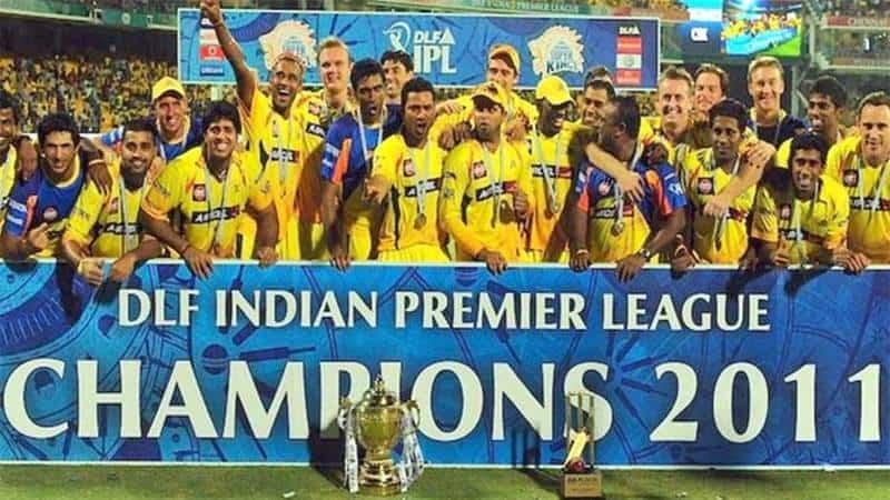 CSK IPL 2011 Winner
