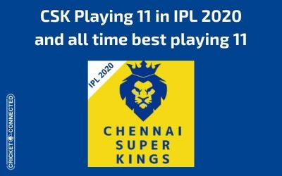 CSK Playing 11 for IPL 2020 and All Time Best Eleven