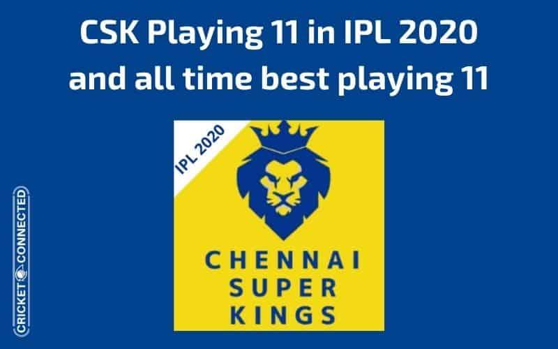 CSK Playing 11