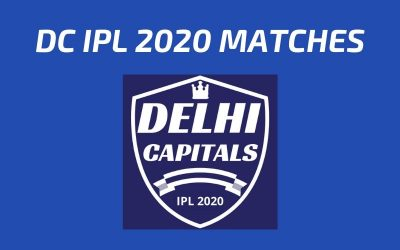 DC Today's Match and Next Upcoming Matches IPL 2020