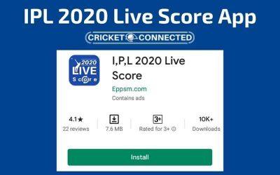 IPL 2020 Live Score App: Get Live IPL Match Scorecard Updates (Free)