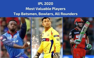 IPL 2020 Top Players: Top Batsmen, Bowlers, All Rounders (Season 13)