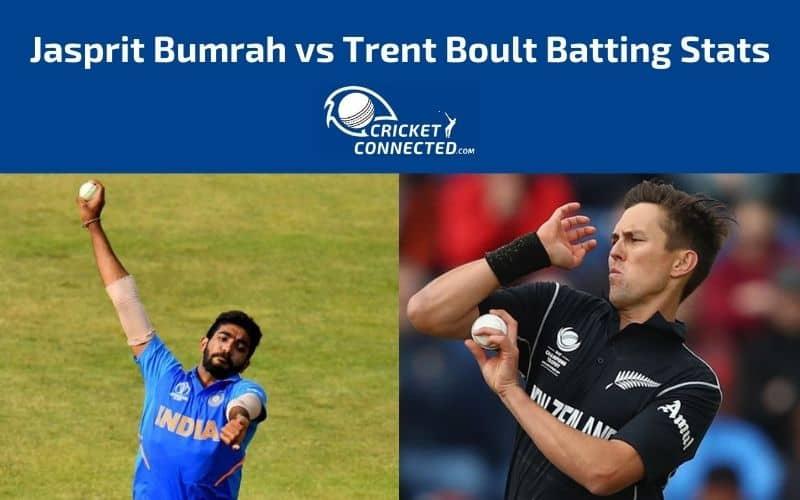 Jasprit Bumrah vs Trent Boult Stats