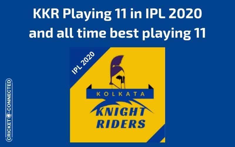 KKR Playing 11