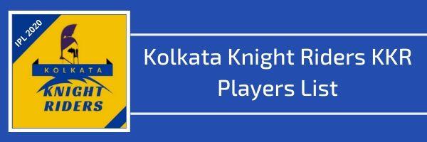 kolkata knight riders kkr players list
