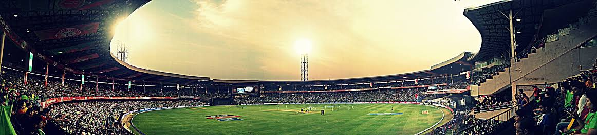 M. Chinnaswamy Stadium Bangalore Cricket Ground