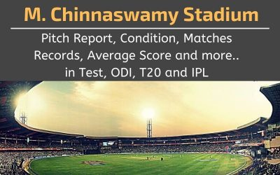 M. Chinnaswamy Stadium Pitch Report, Conditions, Matches Records, Average Scores