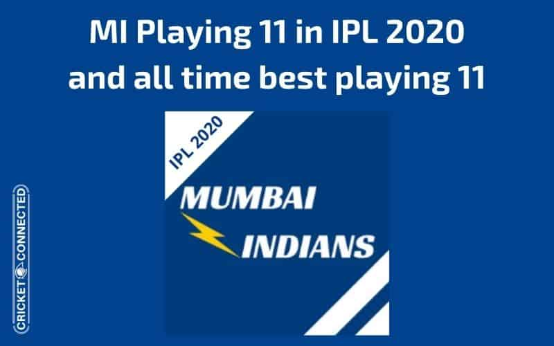 Mumbai Indians MI Playing 11