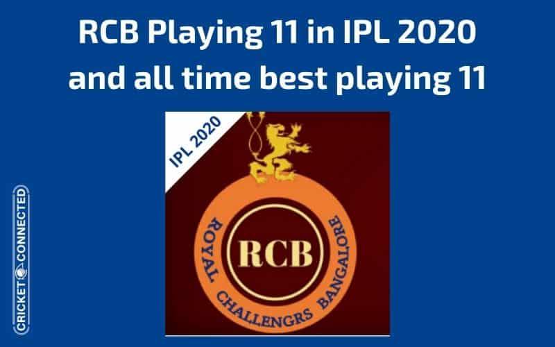 RCB Playing 11