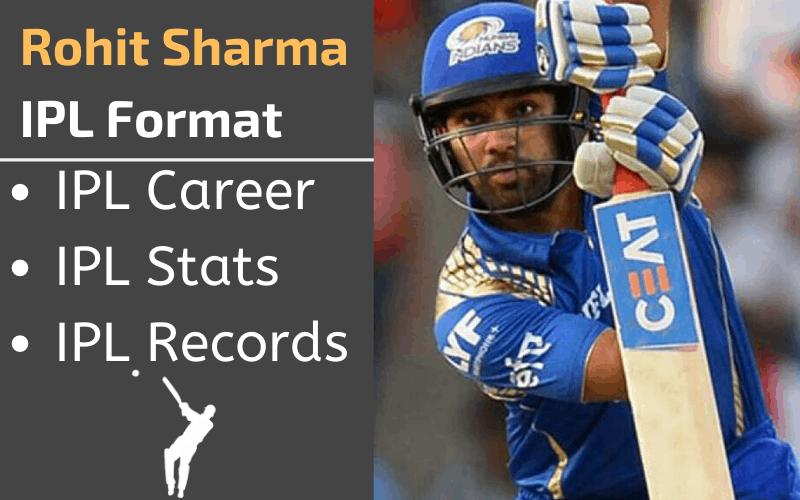 Rohit Sharma IPL Stats Records Rankings and Career