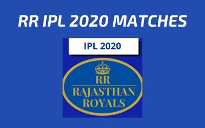 RR Today's Match and Next Upcoming Matches IPL 2020