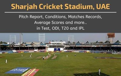 Sharjah Cricket Stadium Pitch Report, Conditions, Matches Records