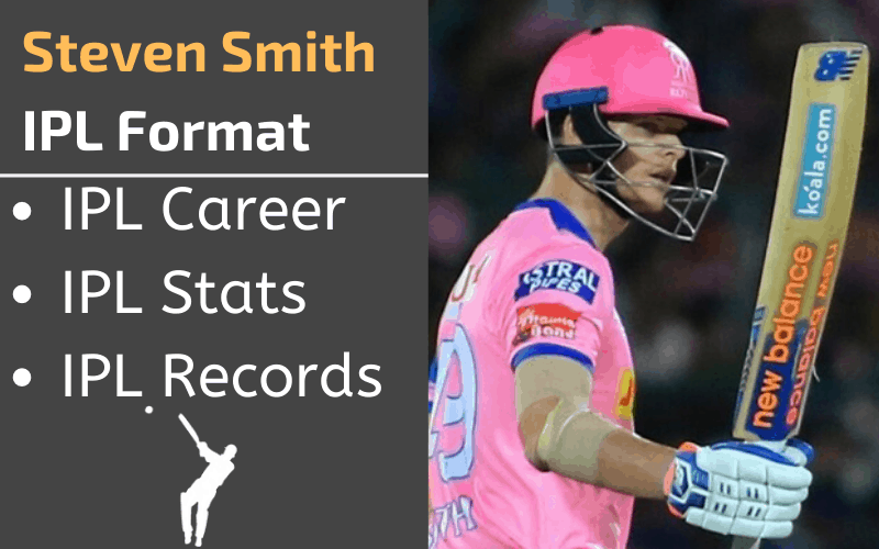Steven Smith IPL Stats Records Rankings and Career