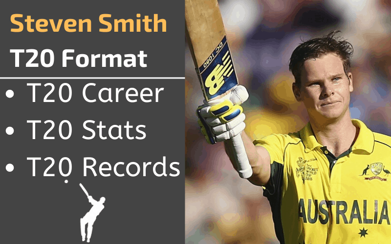 Steven Smith T20 Stats Records Rankings and Career