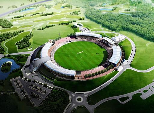 The Rose Bowl Southampton Cricket Stadium, England