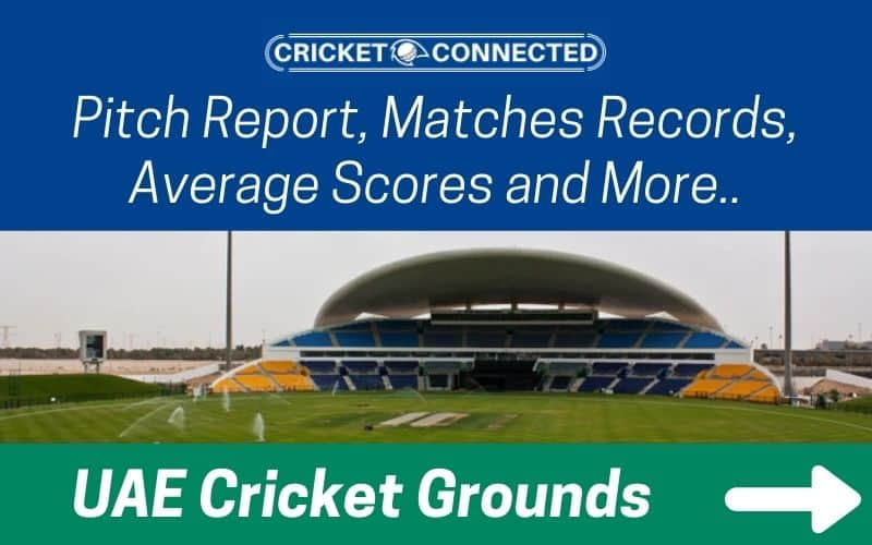 UAE cricket grounds category