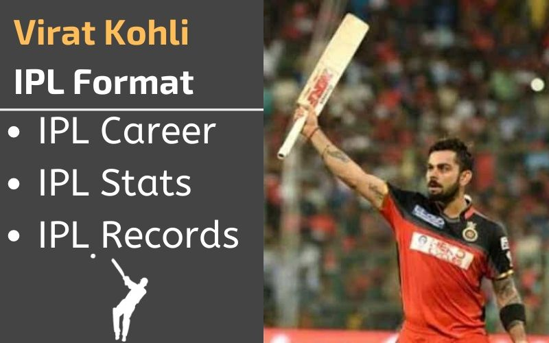 virat kohli ipl stats records rankings and career