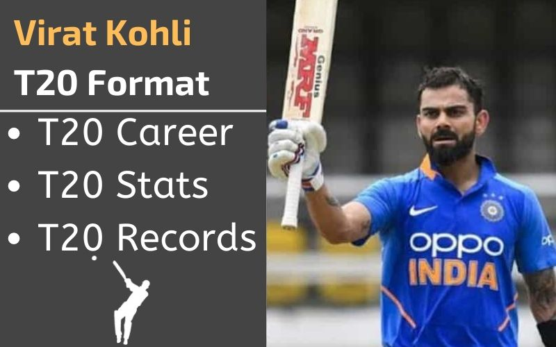 virat kohli t20 stats records rankings and career