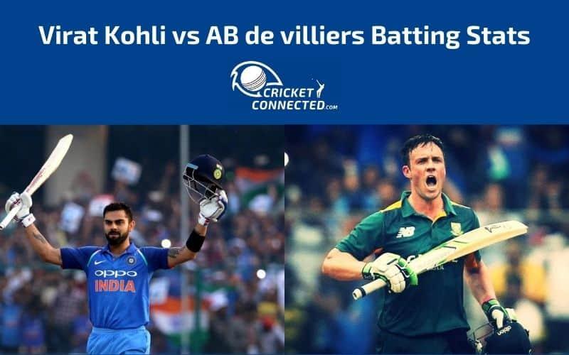 Virat Kohli vs AB de Villiers Stats