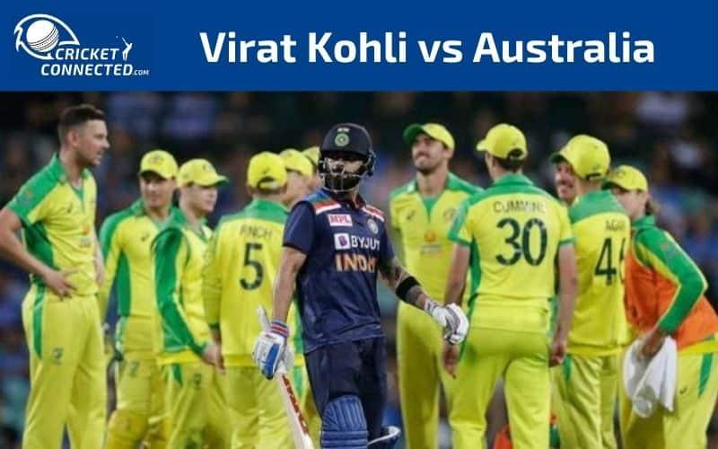 Virat Kohli vs Australia