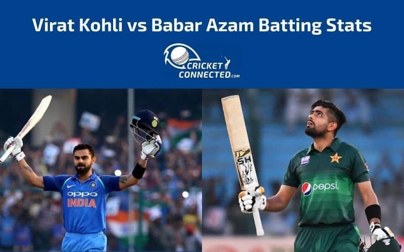 Virat Kohli vs Babar Azam Stats