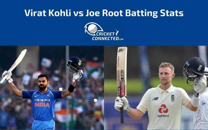 Virat Kohli vs Joe Root Stats