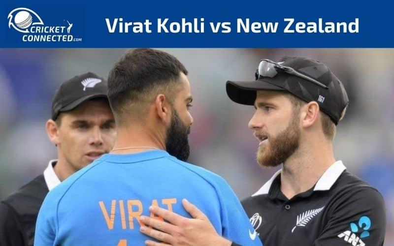 Virat Kohli vs New Zealand